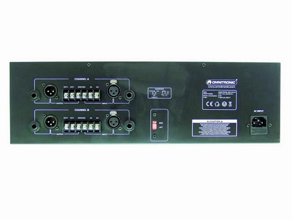 OMNITRONIC GEQ-231 XL Equalizer 2x 31-band 19