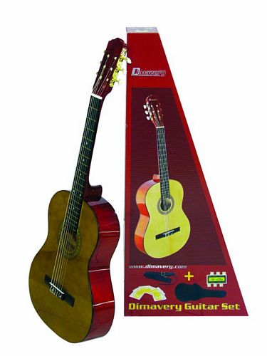 DIMAVERY CGS-20 Classical Guitar, dark, , discoland.fi