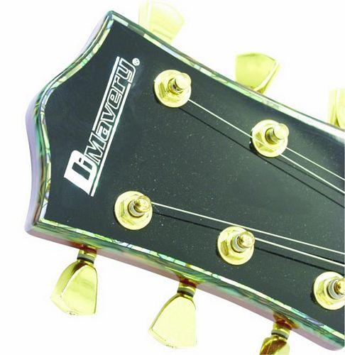 DIMAVERY LP-100 Les Paul tyyppinen Kitara, Helmen Valkoinen, E-Guitar, pearlwhite