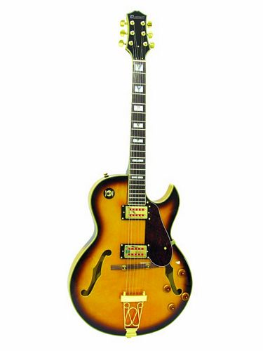 DIMAVERY SH-660 Jazz Guitar, sunburst