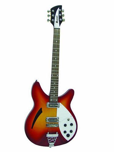 DIMAVERY RB-810 Semi-acoustic Guitar Fir, discoland.fi