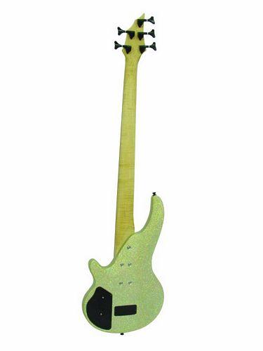 DIMAVERY SB-H1 E-Bass, 5-string, sparkle
