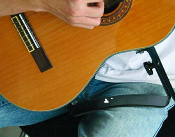 DIMAVERY Guitar Rest, kitaran jalkatuki, LOPPU, POISTUNUT TUOTE!
