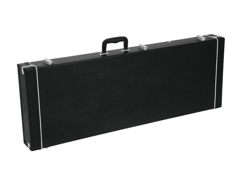 DIMAVERY Universal Hard-Case for Electric Bass, right-angle