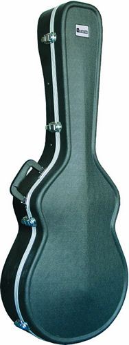 DIMAVERY ABS Hard-case for Acoustic Cutaway Style Guitar