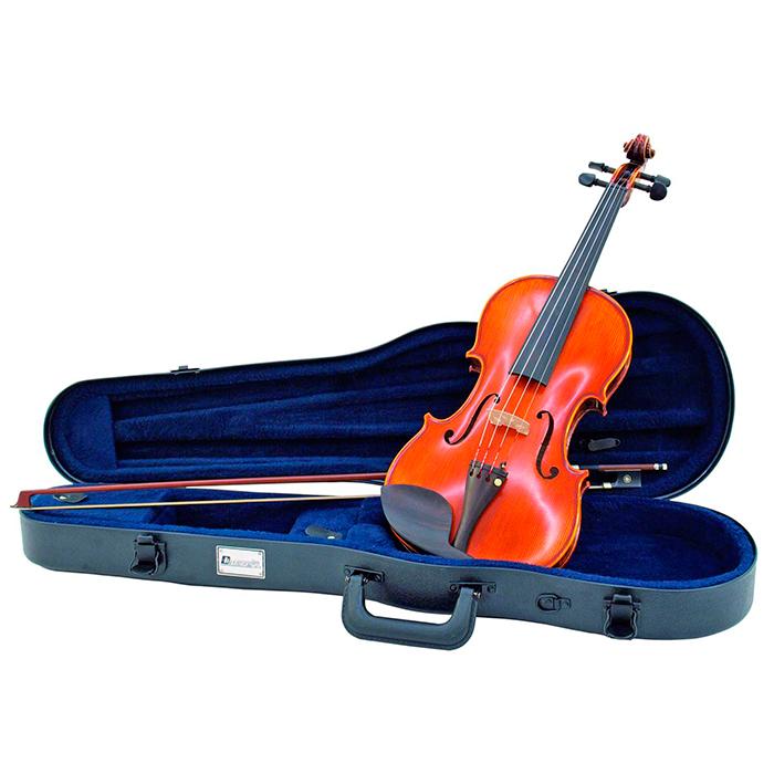 DIMAVERY Viulukotelo. ABS case for 1/2 violin