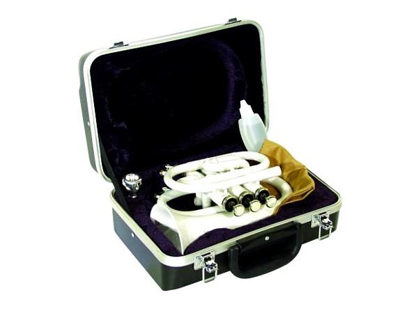 DIMAVERY KAMPPIS EI AKTIIVINEN...............Pocket B-Trumpet Tp-300 white, with case
