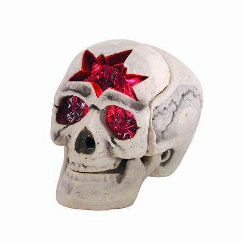 EUROPALMS Loppu!Halloween LED skull red,, discoland.fi