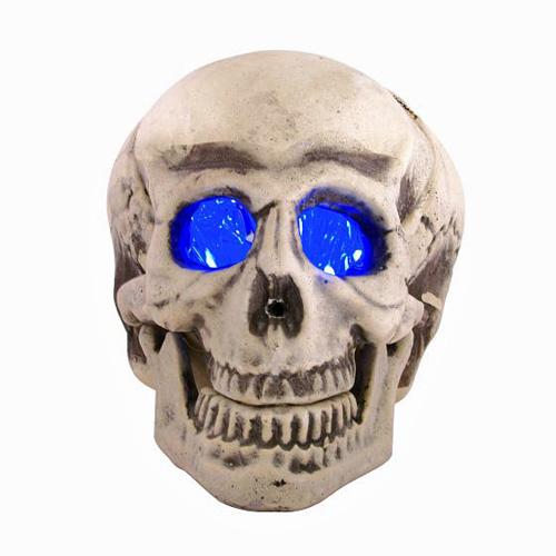 EUROPALMS LOPPU! Halloween LED skull 16c, discoland.fi