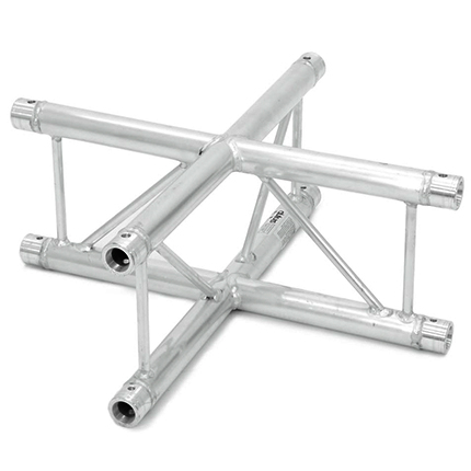 ALUTRUSS BILOCK 4-tie risteyspala BQ2-PAC41V. 4-way cross piece