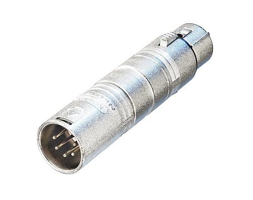 NEUTRIK DMX-adapteri 5-napa XLR-uros - 3, discoland.fi