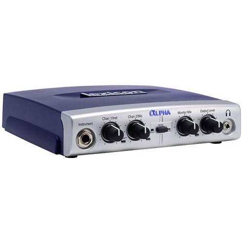 LEXICON Alpha äänikortti-interface kotistudio, 2-linjaa sisään, 2 linjaa ulos sekä 1kpl mikrofoni etuvahvistin+ 1kpl instrumenttiliitäntä ja kuulokeulostulo. Mukana Steinberg Cubase LE-softa ,joka on markkinoiden parhaimman audio sekvensserin kevytversio. Lexicon Pantheon VST reverb plugin, maailman luokan kaikuefekti, 6 eri tyyppistä kaikua, 35 valmista presettiä, 16 editoitavaa parametriä/ kaiku. Mitat n. 17x17x4cm sekä paino alle 500g.