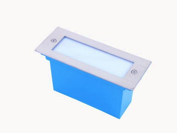 EUROLITE LED recessed light 16 blue LEDs, discoland.fi