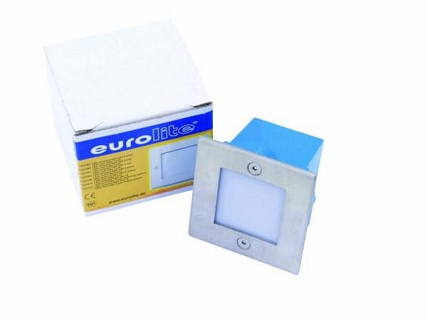 EUROLITE LED recessed light 16 LEDs, FC, milky, IP 54