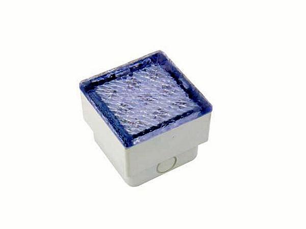 EUROLITE LED recessed light 9 yellow LEDs, ice, IP 65