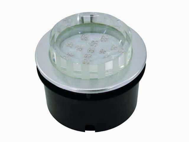 EUROLITE LED recessed light 48 LEDs, cle, discoland.fi