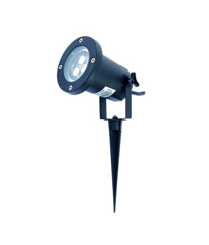 EUROLITE Puutarha maisemavalaisin, LEDeillä, 3 x 1W LED FC, Vaihtuvat värit, Fading Colors, IP65