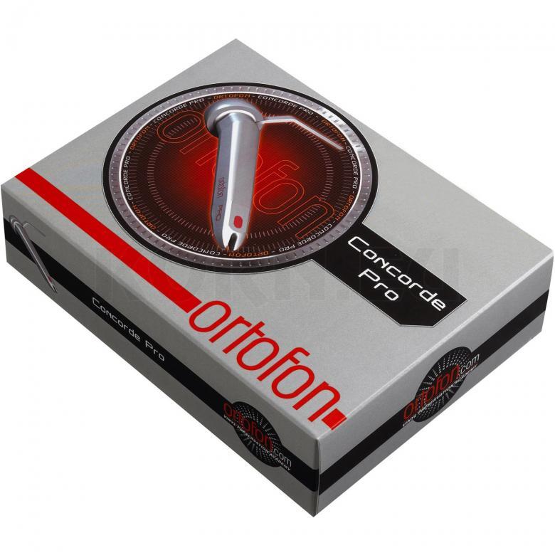 ORTOFON CONCORDE PRO SYSTEM Äänirasia ja neula on huippuammattilaisen valinta vaativaan clubikäyttöön! tämä paketti sisältää concorde pro äänirasian sekä 1kpl neulan!