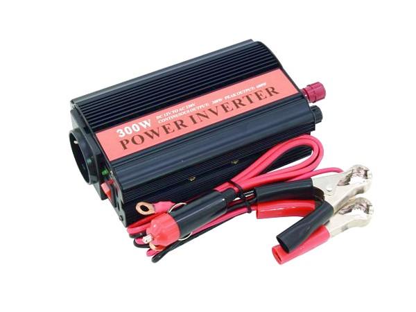 EUROLITE WR-300 Power inverter 12V~230V,, discoland.fi