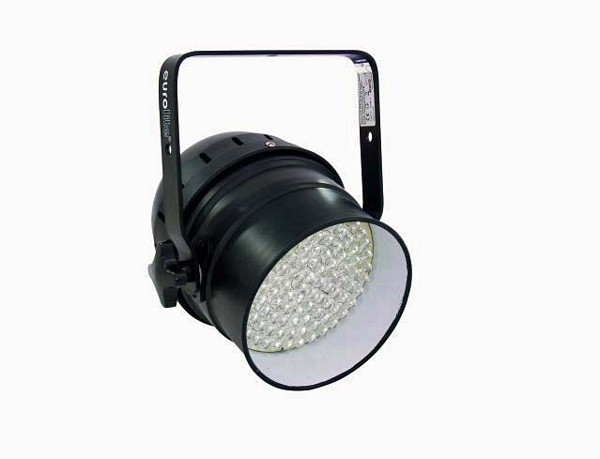 EUROLITE LED PAR-56 valonheitin RGB 103x 10mm LEDs 25-30°, 16W, black