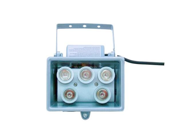 EUROLITE LED FL-5 red, Punainen 40° aukeamiskulma, IP54 ulkokäyttö, Brilliant floodlight with LED-technology, indoor/outdoor use