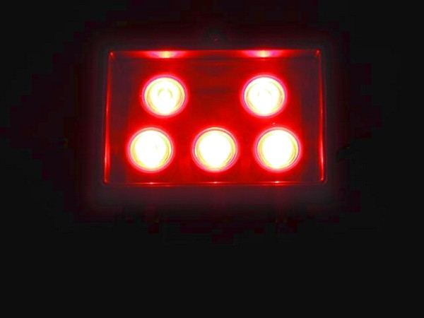EUROLITE LED FL-5 red, Punainen 40° auk, discoland.fi