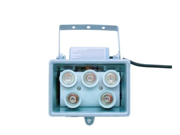 EUROLITE LED FL-5 green, Vihreä 10° aukeamiskulma, IP54 ulkokäyttö, Brilliant floodlight with LED-technology, indoor/outdoor use