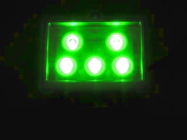 EUROLITE LED FL-5 green, Vihreä 40° au, discoland.fi