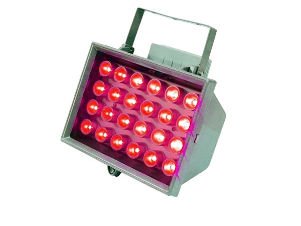 EUROLITE LED FL-24 red 40° IP54, Brilli, discoland.fi