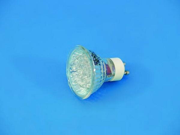 OMNILUX GU-10 230V 18 LED valkoinen 3000K, vastaavuus 20W halogeeni