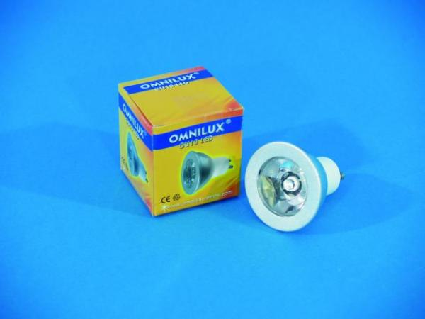 OMNILUX GU-10 230V 3x1W LED white 3000K , discoland.fi
