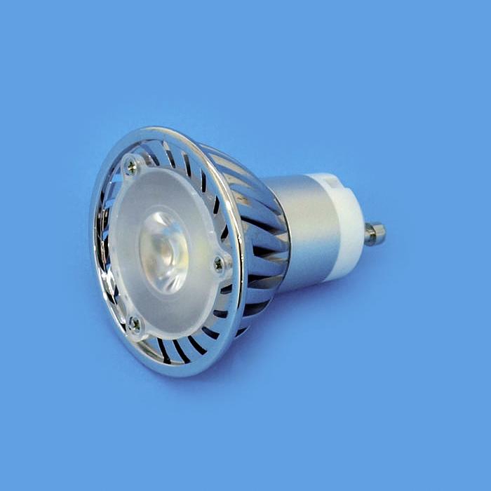 OMNILUX GU-10 LED-lamppu 230V 3W LED 3000K, vastaa 35W halogeenia