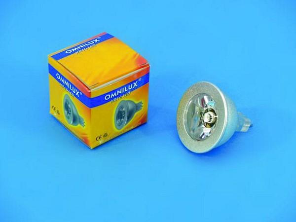 OMNILUX MR-16 12V GX-5.3 1W LED-lamppu y, discoland.fi