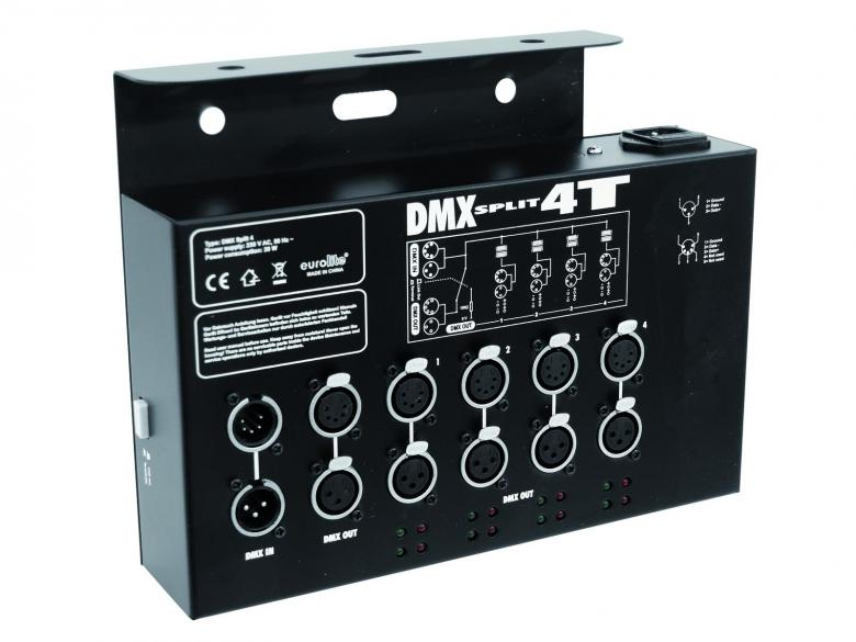 EUROLITE DMX Split 4T DMX-jakaja trussik, discoland.fi