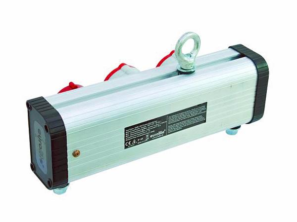 EUROLITE SAB-162 Haaroitusrasia 16A. Heavy duty power split box with CEE input