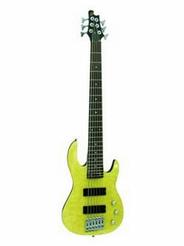 DIMAVERY DP-526 JB Jazzer 6- string, Nature Pearl