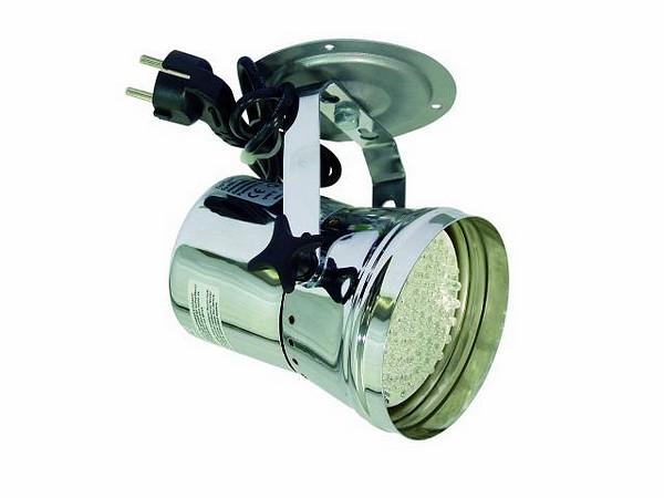 EUROLITE LED T-36 pinspot 30°, 61 white LEDs, 12W, chrome