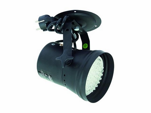 EUROLITE LED T-36 pinspot 30°, 61 white LEDs, 12W, black
