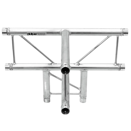 ALUTRUSS DECOLOCK 4-tie T-pala DQ3-PAT42V. 4-way T-piece
