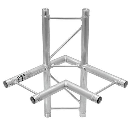 ALUTRUSS DECOLOCK 4-tie risteyspala DQ2-PAC44H. 4-way cross piece