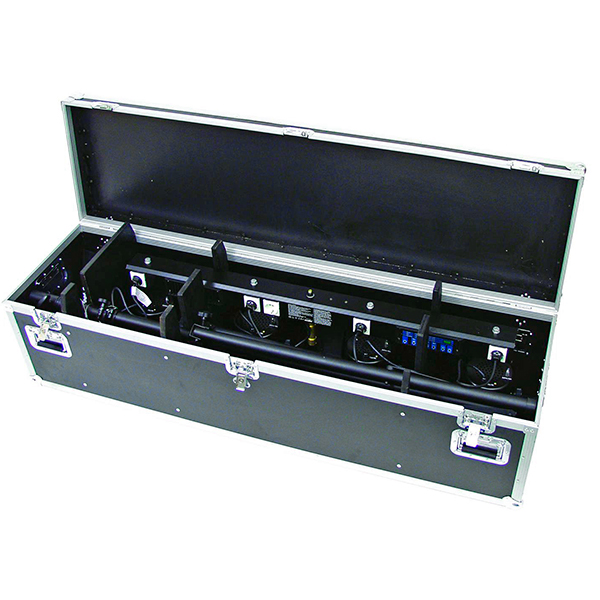 OMNITRONIC Kuljetuslaatikko KLS-20 valosetille. Flightcase for KLS-20. Professional flight case for KLS-20 light set