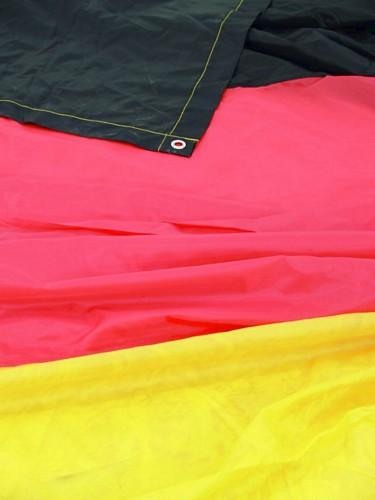 DECO VALTAVAN kokoinen lippu 6 x 3,6 MET, discoland.fi