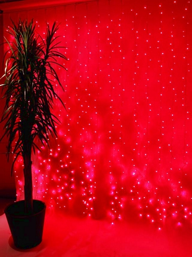 EUROLITE LED Curtain light 925 red LEDs,, discoland.fi