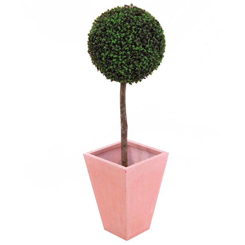 EUROPALMS 60cm Puksipuu, pallon halkaisija 30cm. Boxwood tree (Buxus). Lifelike classy box tree in a bright and luscious gree