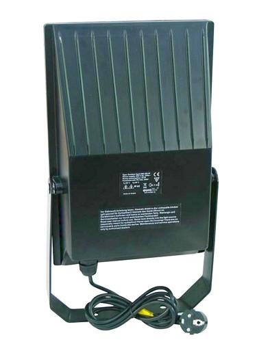 EUROLITE LED Ulko Spotti, Vaihtuvin Värein, Outdoor spot 288 LED FC IP65 black 22W, Fading Colours