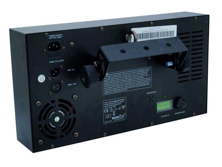 EUROLITE LED Leveäkeila heitin, Flood Light RGB, 648 x 5mm, 50W, manual-controlled, sound-controlled or DMX