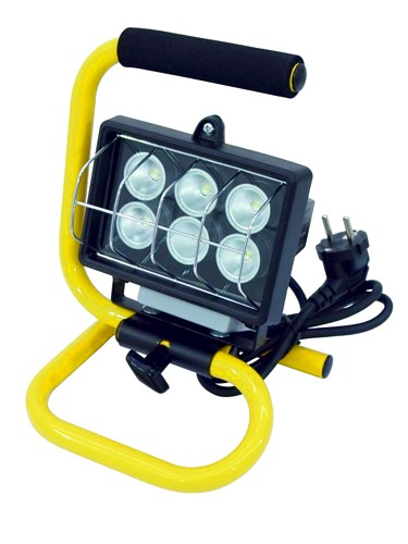 EUROLITE LED FLS-6 yellow 40° IP54 6W