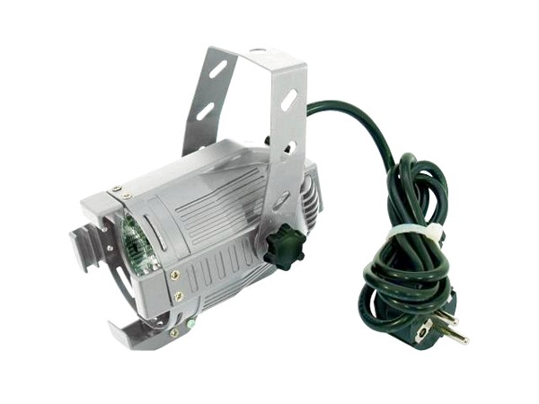 EUROLITE LED ML-20 green 25° silver 4W, discoland.fi