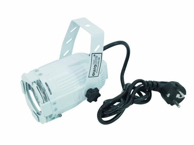 EUROLITE LED ML-20 green 25� white 4W, discoland.fi