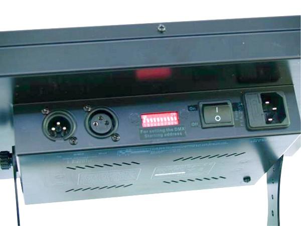 EUROLITE LED DMX RGB Flash, Strobo Monivärinen, 384 LEDs 15W, Musiikiohjaus